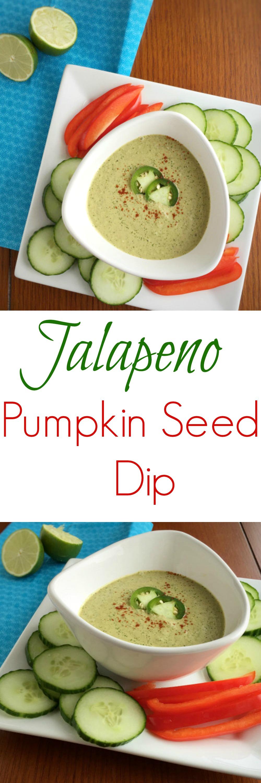 Jalapeno Pumpkin Seed Dip