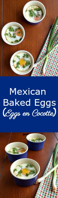 Mexican Baked Eggs | Healthier Dishes