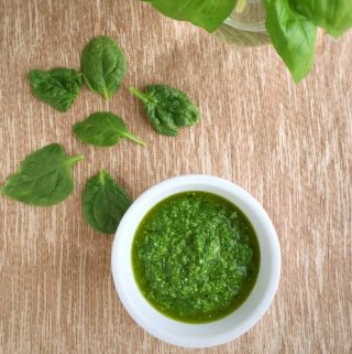 Spinach Basil Pesto