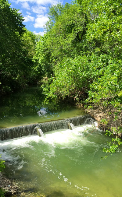 Waterfall-West-Rowlett-Creek