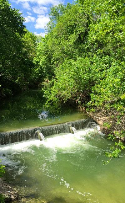 Waterfall-West-Rowlett-Creek