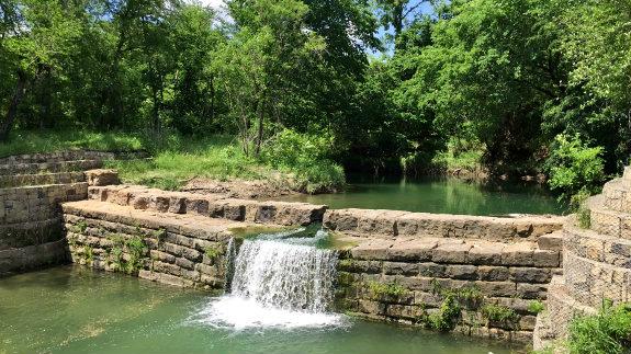 Allen Historic Dam