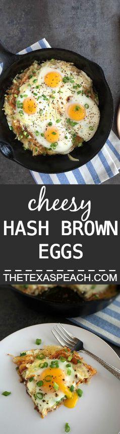 Cheesy-Hash-Brown-Eggs Pin