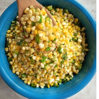 Fresh Sweet Corn and Jalapeños