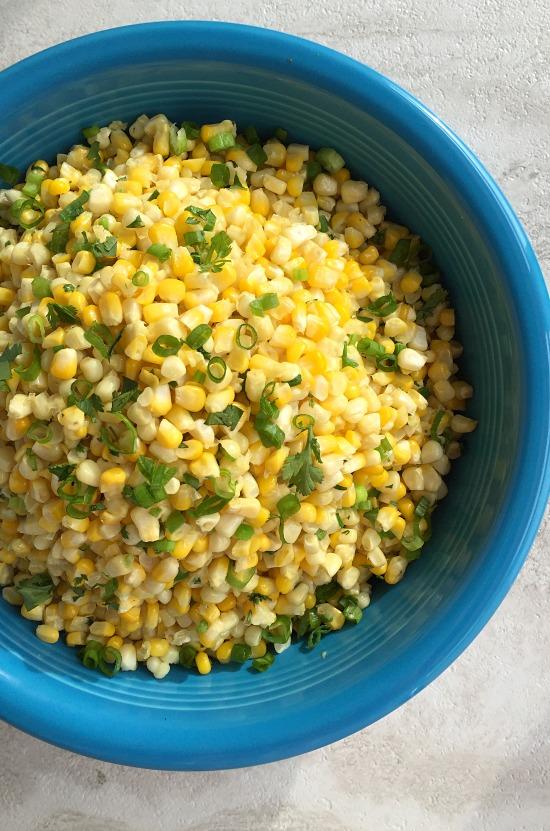 Fresh Sweet Corn and Jalapenos