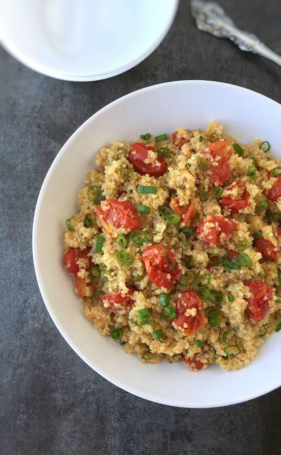 Tomato and Jalapeno Quinoa