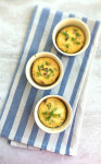 Baked Eggs with Mozzarella and Bacon