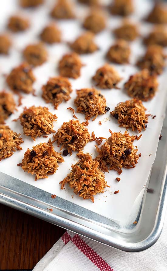 Coconut Chocolate Chip Macaroons