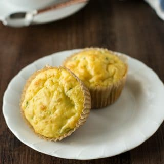 Einkorn Cottage Cheese Jalapeño Muffins