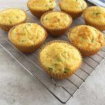 Einkorn Cottage Cheese Muffins with Jalapenos