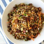 Pancetta and Sprouted Lentil Salad