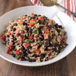 Spicy Quinoa and Black Bean Salad