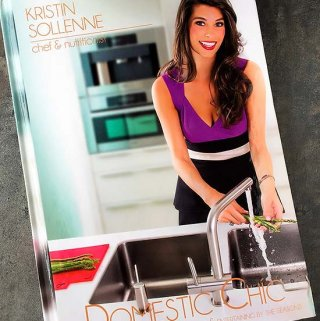 Domestic Chic Cookbook Review and a Giveaway! (Ended)