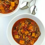 Tex-Mex Turkey and Butternut Squash Soup