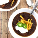 Vegetarian Black Bean Chili