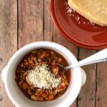 7-Ingredient Italian Chicken and White Bean Soup