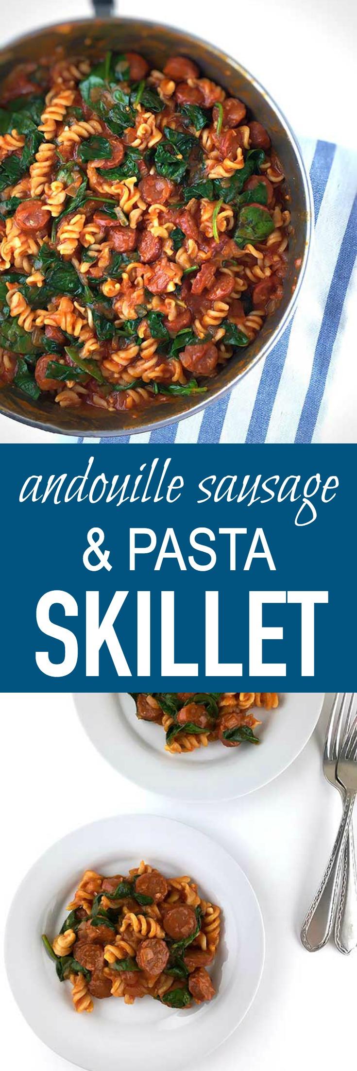 Andouille-Sausage-Pasta-Skillet-Pin
