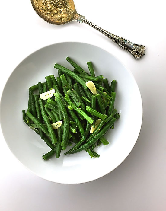 Green beans with Butter and Garlic