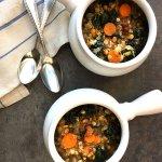 Lentil Soup with Pancetta and Kale