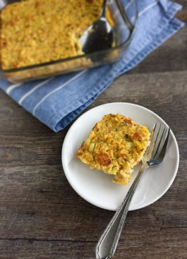 Small Batch Cornbread Dressing