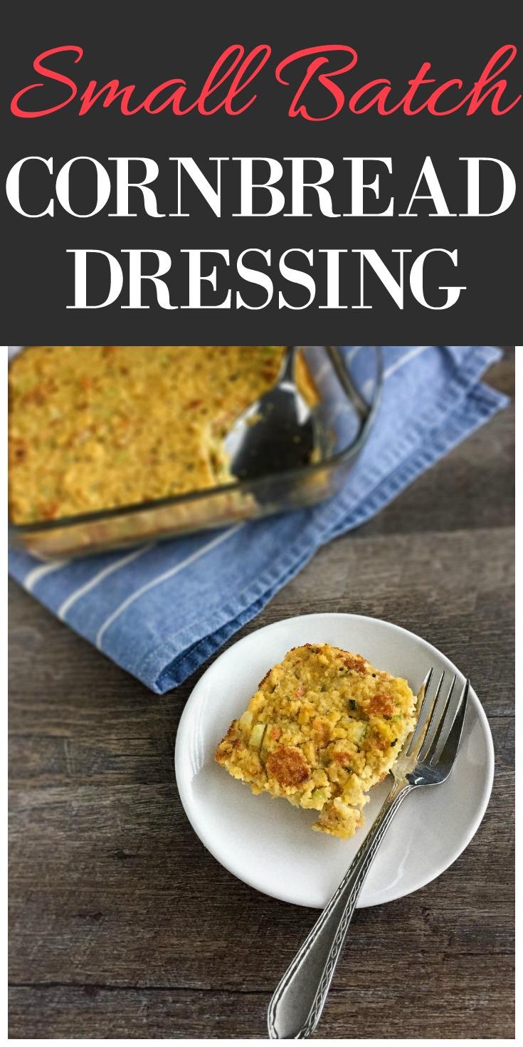 Small Batch Cornbread Dressing
