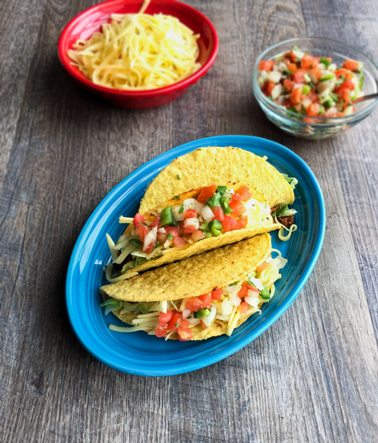 Beef and Black Bean Tacos