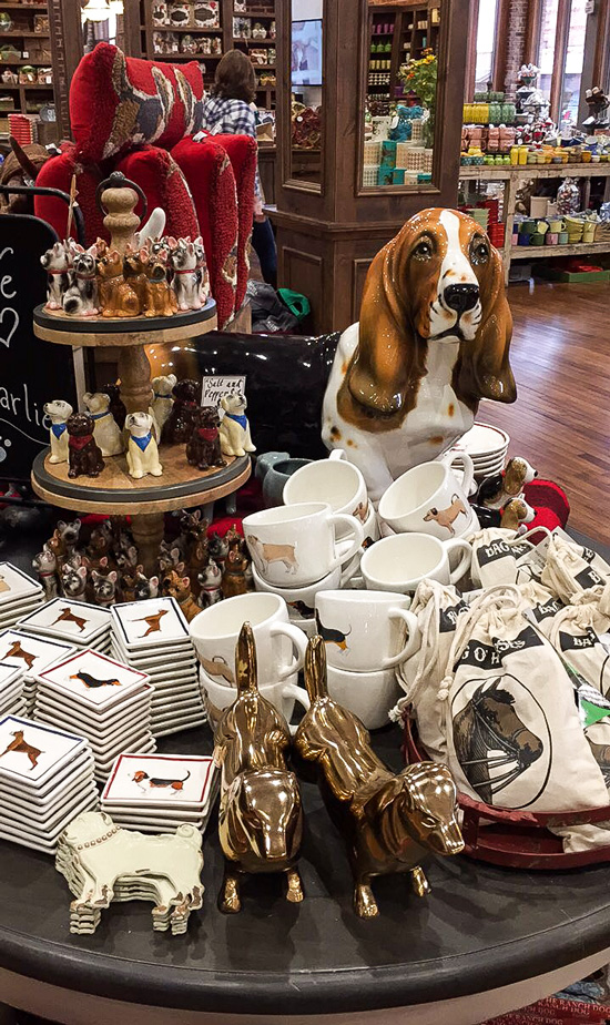 Mercantile Dog Table