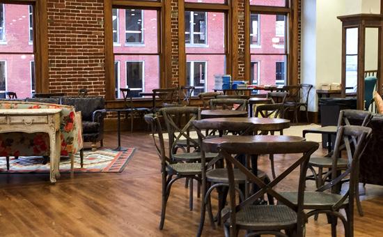 Pioneer Woman Mercantile Bakery Seating