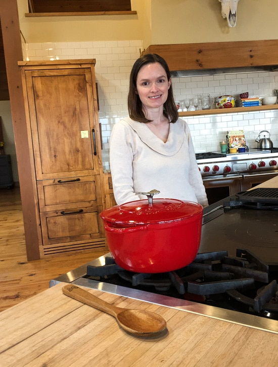 Tempie in Pioneer Woman Cooks Kitchen