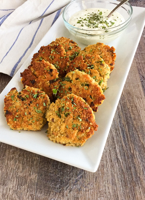 Canned Salmon Quinoa Cakes