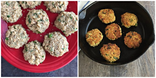 These Quinoa Salmon Cakes are great for an easy and healthy weeknight meal. Gluten-free and delicious!