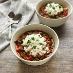 Slow Cooker Italian Stuffed Pepper Soup