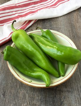 Bowl of Anaheim Chiles