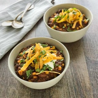 Slow Cooker Beef Tortilla Soup