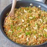 Easy Cauliflower Chicken Fried Rice