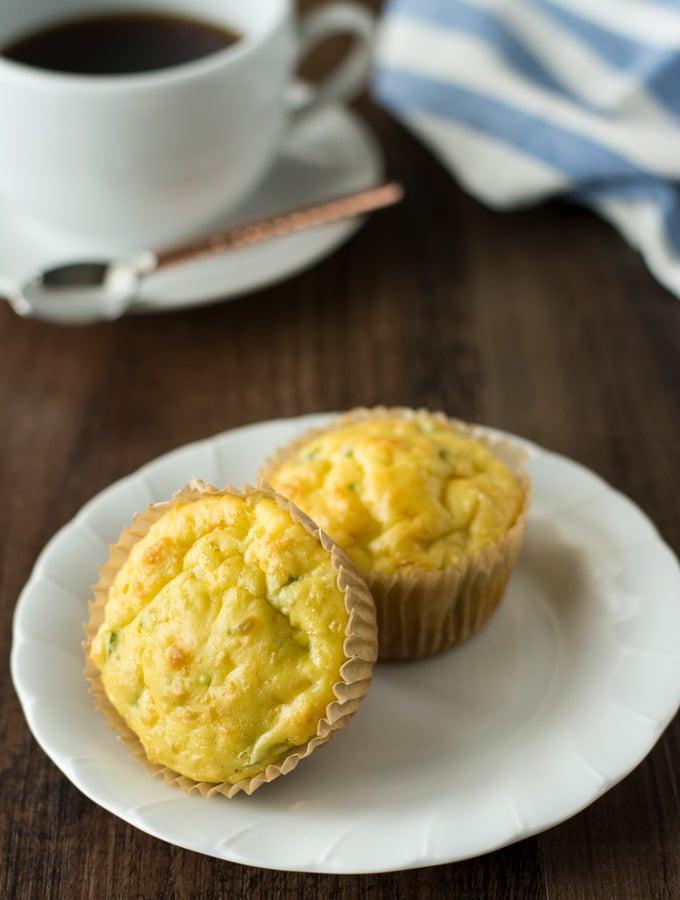Einkorn Cottage Cheese, Jalapeño Muffins