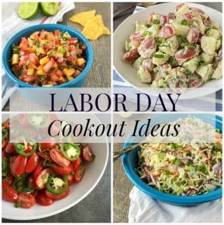 Labor Day Cookout Foods